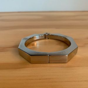 Vita Fede octagonal silver bracelet